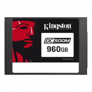 Dysk SSD Kingston Data Center DC500M SSD SATA3 2,5'' 960GB, R/W 555MBs/520MBs