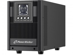 Zasilacz awaryjny UPS Power Walker On-Line 2000VA AT 4x FR Out, USB/RS-232, LCD, Tower, EPO